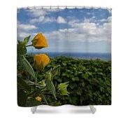 Bell Flower Shower Curtain