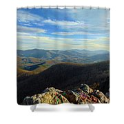 Bell Mountain Shower Curtain