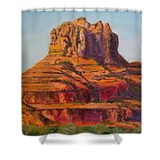Bell Rock In Sedona Arizona - High Res. Shower Curtain
