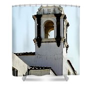 Bell Tower In Santa Cruz Shower Curtain