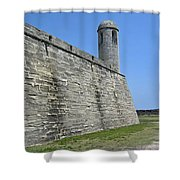 Bell Tower Of The Castillo Shower Curtain