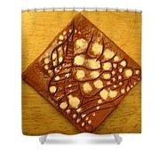 Bella - Tile Shower Curtain