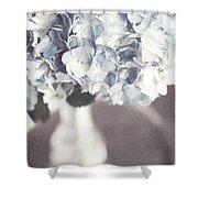 Bella Donna Shower Curtain by Lisa Russo