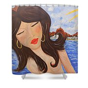 Bella En Rio Shower Curtain