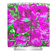 Bella Flora 2 Shower Curtain