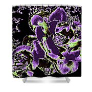 Bella Flora 5 Shower Curtain