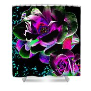 Bella Flora 8 Shower Curtain