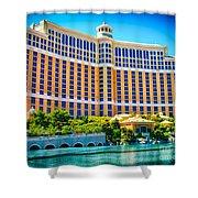 Bellagio Hotel And Casino Shower Curtain