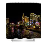 Bellagio On The Las Vegas Strip Shower Curtain