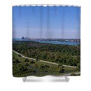 Belle Isle Shower Curtain