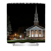Belle Meadows Baptist Church Shower Curtain