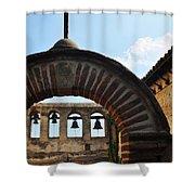 Bells Of Mission San Juan Capistrano Shower Curtain