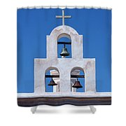 Bells - San Xavier Del Bac - Arizona Shower Curtain