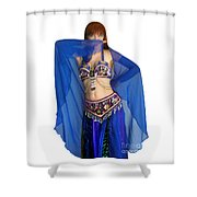Belly Dance Modeling. Sofia Of Ameynra Shower Curtain