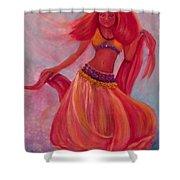 Belly Dancer Shower Curtain