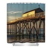 Belmar Fishing Pier Shower Curtain