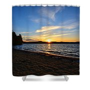 Belmont Nh Beach Shower Curtain