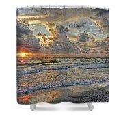 Beloved - Florida Sunset Shower Curtain