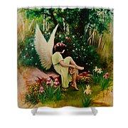 Beltaine Angel Shower Curtain