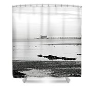 Bembridge Lifeboat Station From St Helens Shower Curtain