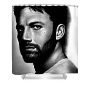 Ben Affleck Shower Curtain