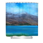 Ben More On Mull Shower Curtain