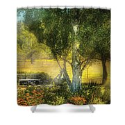 Bench - I Had This Dream And It All Began Shower Curtain