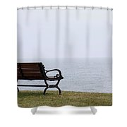 Bench Shower Curtain