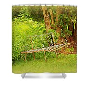 Benched Shower Curtain