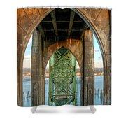 Beneath The Bridge Shower Curtain
