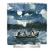 Beneath The Stars Shower Curtain