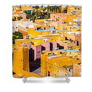 Beni Isguen Houses From The Watch Tower Shower Curtain