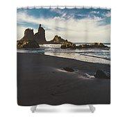 Benijo Beach Shower Curtain
