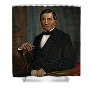 Benito Juarez (1806-1872) Shower Curtain by Granger