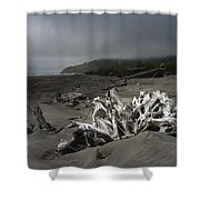 Benson Beach Shower Curtain