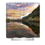 Benson State Recreation Area In Fall Shower Curtain