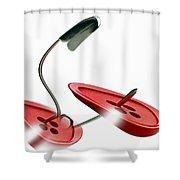 Bent Shower Curtain