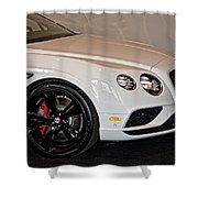 Bentley Continental Gt V8s Shower Curtain