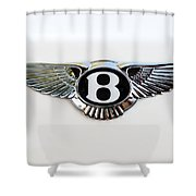 Bentley Emblem -0081c Shower Curtain