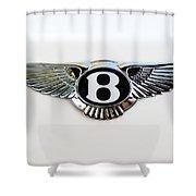 Bentley Emblem -0081c Shower Curtain