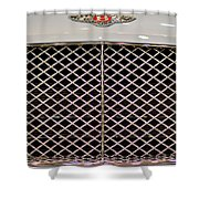 Bentley Grille And Insignia Shower Curtain