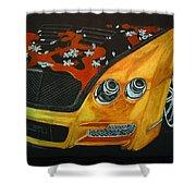 Bentley W66gts Shower Curtain