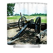 Bentonville Nc Confederate Artillery Shower Curtain