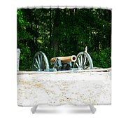 Bentonville Nc Confederate Line Shower Curtain