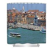 Benvenuto Venice Shower Curtain