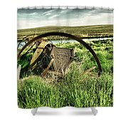 Bereft On The Grasslands T Shower Curtain