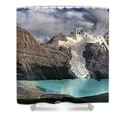 Berg Lake, Mount Robson Provincial Park Shower Curtain