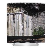 Bergama Asklepion Colonnade  Shower Curtain