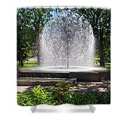 Berger Fountain2 Shower Curtain