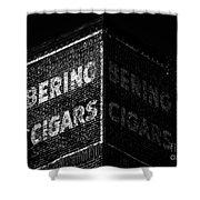 Bering Cigar Factory Shower Curtain